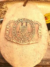 """Texas A&M University, College Station Texas, Clay, Stoneware, Plaque (5.75""""x4"""")"""