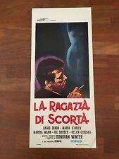 locandina S/7,LA RAGAZZA DI SCORTA Escort Girl  1974 Winter Dixon Mann sexy
