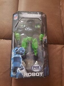 """New NFL Seattle Seahawks FOX Sports 10"""" Robot Cleatus Action Figure Version 2.0"""