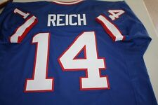 FRANK REICH #14 SEWN STITCHED THROWBACK HOME JERSEY SIZE XLG QB