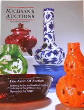 MICHAAN'S AUCTIONS,FINE ASIAN ART AUCTION,December 2010, 304 Items, 106 pages