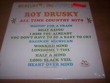 Roy Drusky SEALED LP vinyl record All Time Country Hits Mercury Wing SRW 16283