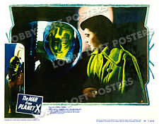 THE MAN FROM PLANET X  LOBBY SCENE CARD # 2 POSTER 1951 MARGARET FIELD