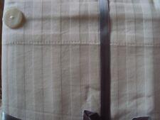 1 Bettbezug Duvet Urbanara Como 100%Baumwolle weiß Streifen Knöpfe 260 x 220 cm