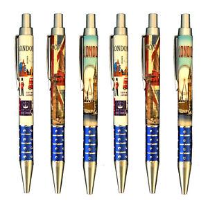 6 London Union Jack Pens British Pen Office School Student London Souvenirs pens