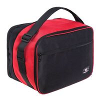 Top box luggage bag for VARIO R1200GS EXPANDABLE great quality new Red/Black