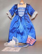 American Girl doll Felicity Blue holiday gown (DOLL NOT INCLUDED)