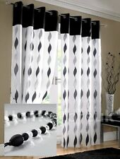 Voile Eyelet Top Net Curtains