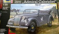 KIT REVELL 1:35 AUTO DA MONTARE GERMAN STAFF CAR ADMIRAL CABRIOLET 03099