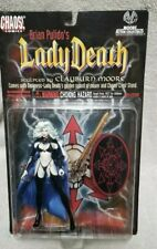 Brian Pulido's LADY DEATH Action Figure (Moore 1997) Chaos! Comics MIP