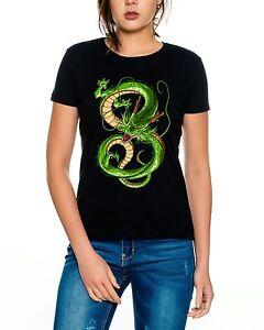 Dragonball Shenglong Damen T-Shirt Nerd Geek in verschiedenen Farben