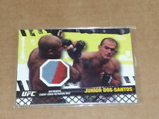 2010 Topps UFC FIGHT MAT JUNIOR DOS SANTOS OCTAGON MAT RELIC E9578