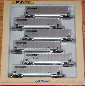 WALTHERS 932-5304 GOLD LINE BETHGON 6-PACK NORFOLK SOUTHERN # 1 NS