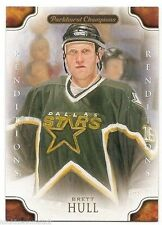 11/12 PARKHURST CHAMPIONS RENDITIONS COLOR Brett Hull #135