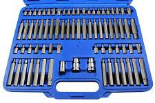 Innen Vielzahn 6-kant XZN lang kurz Bit Satz Set Bits M5-M12 Schlüssel Torx Ribe