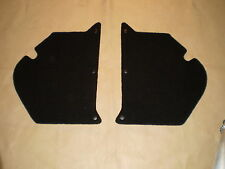 Holden HK-H-HG kick panels L & R. black plush carpet. NEW.