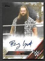 2016 Topps WWE AUTOGRAPH Bray Wyatt GOLD SSP AUTO 06/10