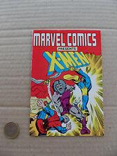 Marvel Comics Presents : X-Men . Mini Comic . 1987 . NM