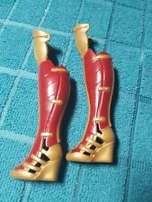 "DC Comics Wonder Women Sheild Block Doll Boots Only For 12"" Doll"