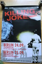 KILLING JOKE   - Konzertposter  Tour Poster 2008