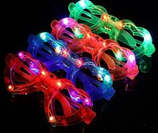 BEST PARTY FAVORS OF 2016! 12 Piece Light-Up Flashing Glasses For Children Adult