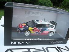 NOREV 1/43 CITROEN C4 WRC N°7 OGIER  RALLYE DU PORTUGAL 2010 RED BULL!!!!