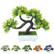 Plastic Artificial Plant For housewarming Miniature Display Crafts Durable