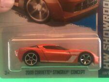 Hot Wheels #209 '09 Corvette Stingray Concept 2013 HW Showroom MOC