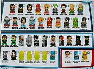 OOSHIES Common , Rare & Limited Edition DC Comics Series 1