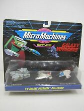 Micro Machines #6 GALAXY VOYAGERS COLLECTION -1993 Galoob  #65824 Space Vehicles