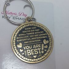 Mothers Day Keychain you are the best