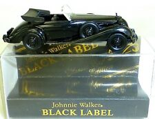 MERCEDES 540k Cabrio JOHNNIE WALKER CLASSIC CAR Edición Negro Label WIKING H0