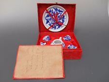 Asian Mini Tea Set 6 Pieces Tray 4 cups Teapot