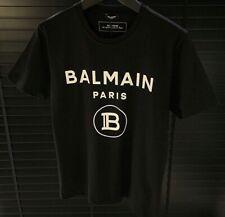 Brand New Balmain T Shirt Mens Black Colour XLarge Size Good Price