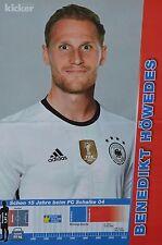 BENEDIKT HÖWEDES - A3 Poster (ca 42 x 28 cm) - Fußball EM 2016 Clippings Plakat