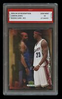 2003 LEBRON JAMES #22 UPPER DECK REDEMPTION 1ST GRADED 10 ROOKIE CARD RC LAKERS