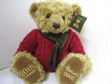 2005 20th Anniversary Harrods Nicolas Teddy Bear. Collectable Birthday/baby Gift