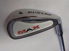 Dunlop max inoxydable 4 fer acier arbre