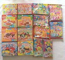 Kracie DIY kit Happy Kitchen popin cookin Japanese making candy kit 15pcs new