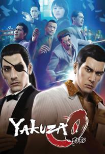 Yakuza 0 Zero Video Game Poster Art Print Wall Home Room Decor SEGA PC PS XBOX