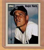 ROGER MARIS, '61 NEW YORK YANKEES, 61 HR SEASON, RARE NYC CAB CARD