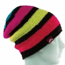Spacecraft Collective MIDOME Unisex Beanie One Size Multi Colored Striped NEW