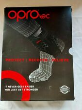 OPROtec Ankle Brace with Stabilisers - Neoprene Support for Arthritis, XL