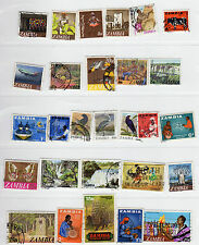ZAMBIA STAMP Collection, used