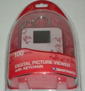NEW Digital Picture Viewer With Keychain holds 100 Pictures made by Smartparts