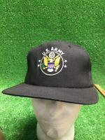 Army Presidential Seal strong Black Yellow Strapback Adjustable Hat Cap USA Made