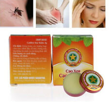 5 Boxes/lot Golden Star Balm Ointment Cao Sao Vang Vietnamese Balsam Aromatic 4g