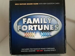 Family Fortunes Board Game With 'UH-UH' Sound Effect Britannia Games Complete
