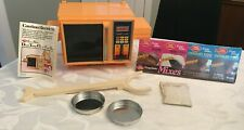 Vintage Easy Bake Dual Temp oven In Box with Cake Mix Set
