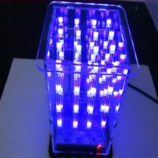 DIY Kit 3D LED Cube LightSquared 4x4x4 2*5*7MM White LED Blue Ray